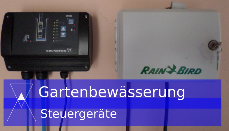 Gartenbewässerungs-Steuergerät (mit Batterie oder Strom) soll  eingebaut werden -Gartenbewässerung selber bauen Teil-5